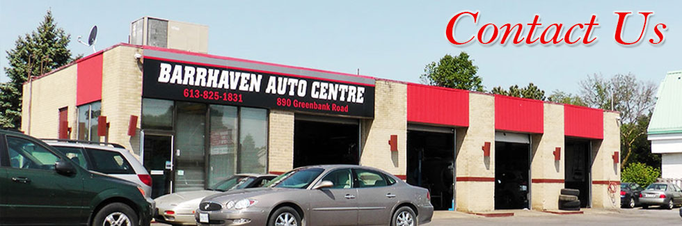Barrhaven Auto Centre - Our location