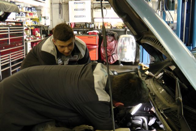 Barrhaven Auto Centre - Staff hard at work.